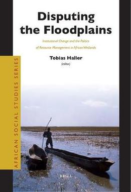 """Book Cover of """"Disputing the Floodplains"""""""