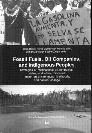"""Book Cover of """"Fossil Fuels, Oil Companies, and Indigenous Peoples"""""""
