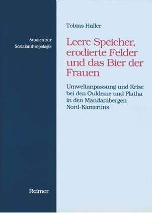 """Book Cover of """"Leere Speicher, erodierte Felder und das Bier der Frauen"""""""